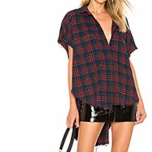 Brand new with tags Darla Cut Off Shirt in Multi